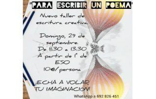 Taller de escritura: Para escribir un poema